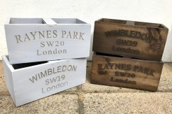 Local Wooden Boxes
