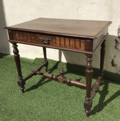 Antique French Oak Table or Desk