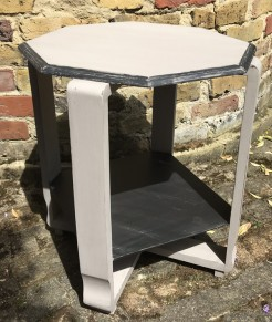 Octagonal Painted 1930s Table